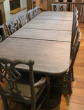 Dining table and 12 chairs